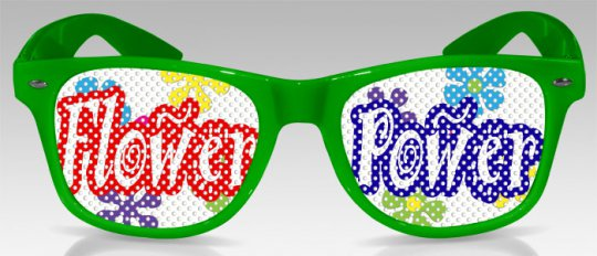 Flower Power - Brille